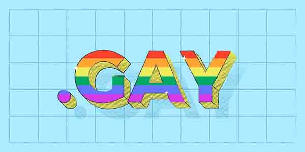 .GAY域名即日起正式开放注册