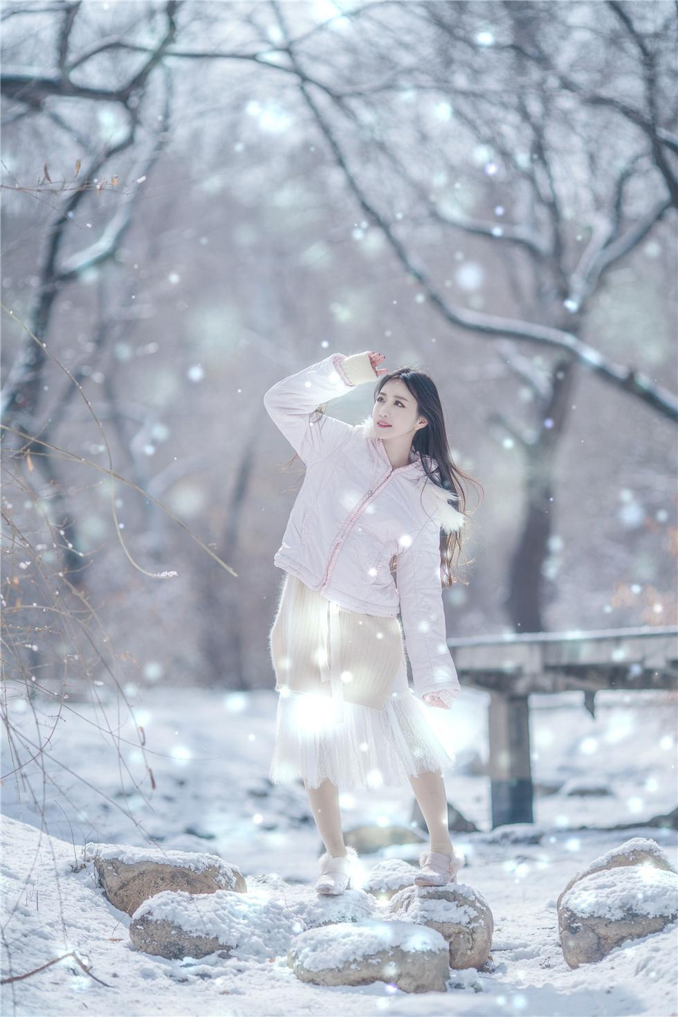 冬日里令你动容的精灵少女,第3张
